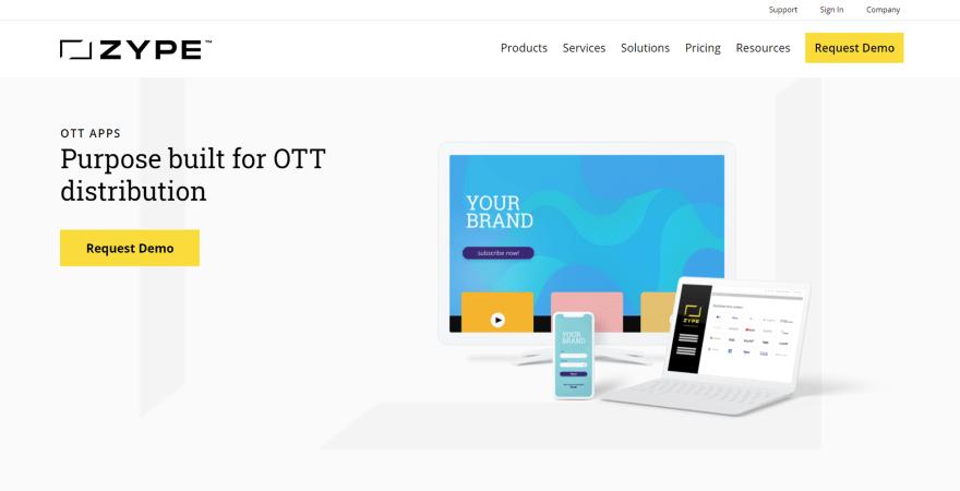 Zype OTT TV Software