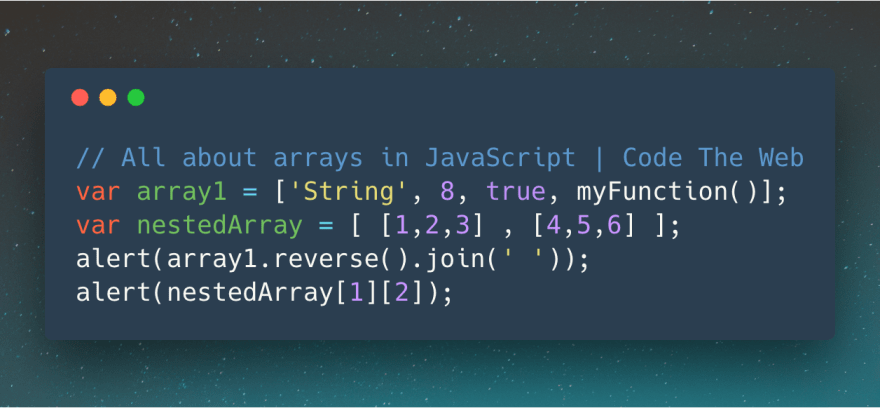 The complete guide to JavaScript arrays