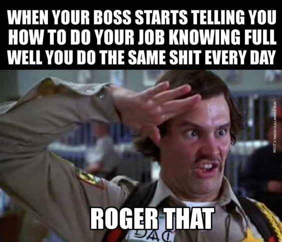 boring work meme