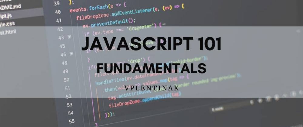 Cover image for JS 101 (1 - n)  Introduction