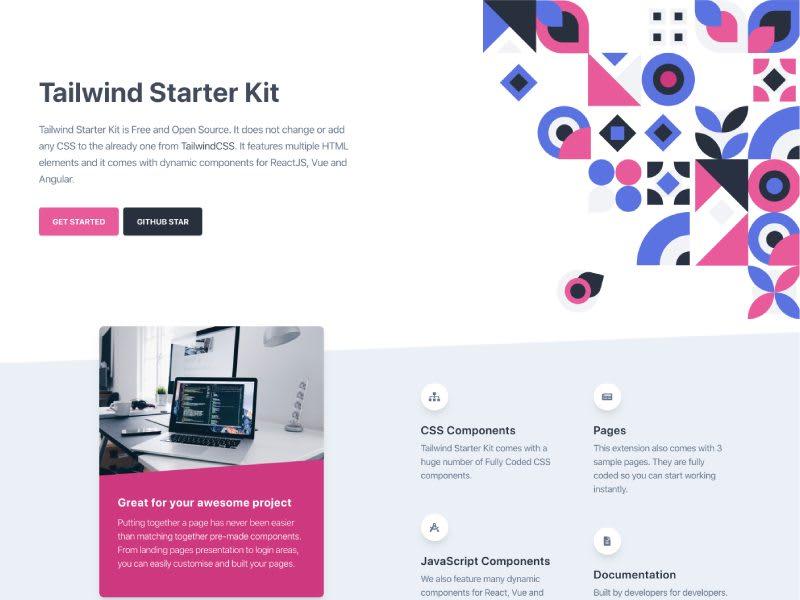 Tailwind Starter Kit