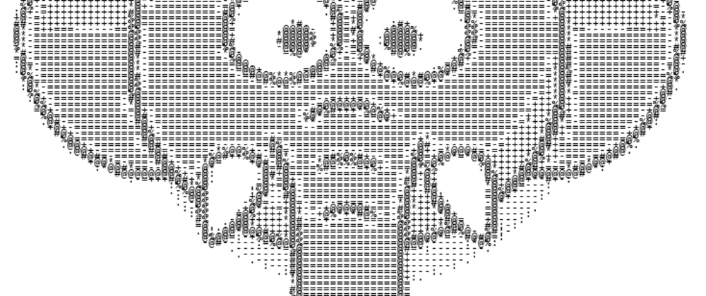 Cover image for An image to ASCII conversor in JavaScript that runs on the browser.
