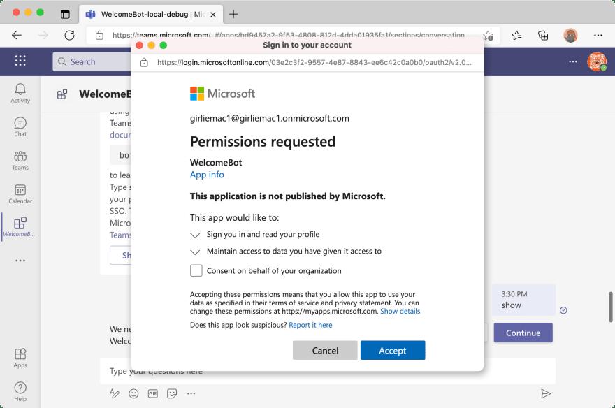 Alt Text - user authorization