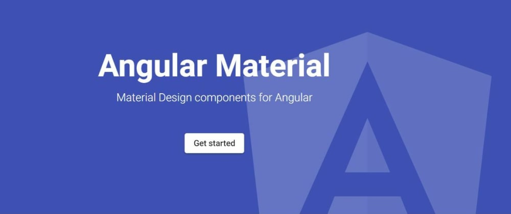 Cover image for My first thoughts about Angular Material