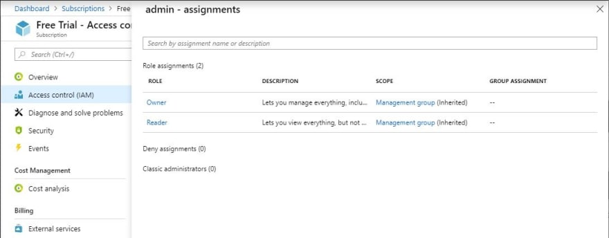 check-access-assignments