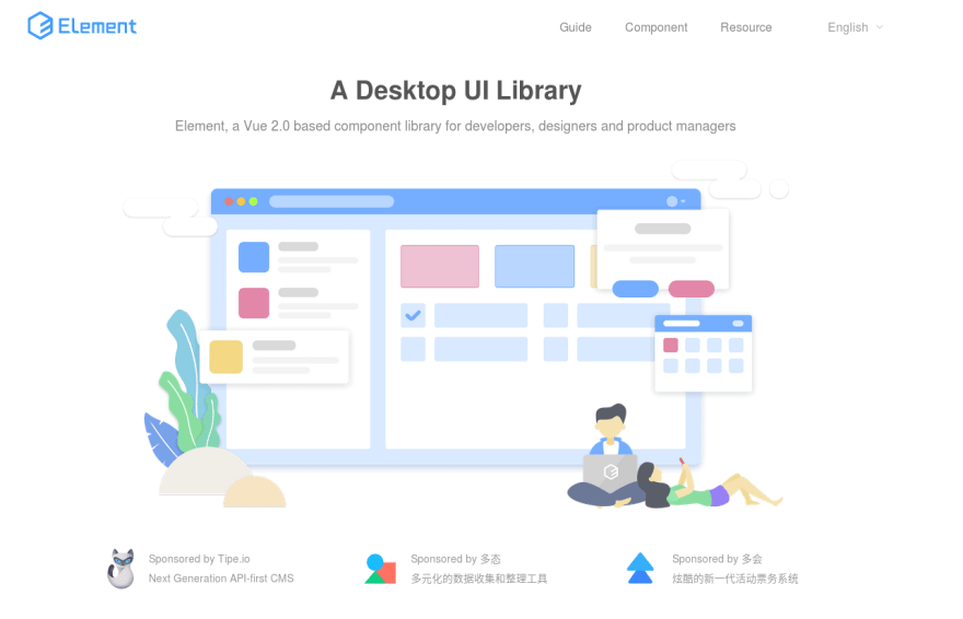 Nice Vue UI Toolkits on GitHub  - DEV Community 👩 💻👨 💻
