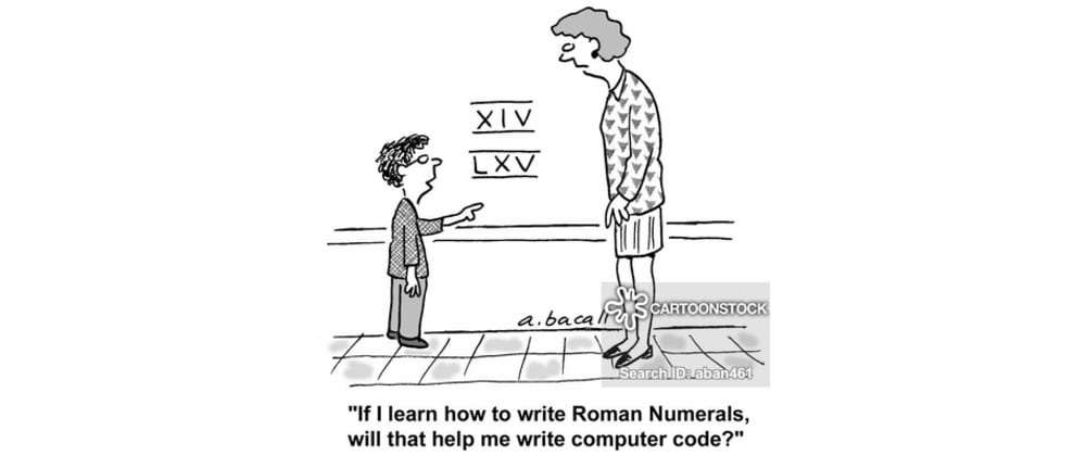 Cover image for A python regex to validate roman numerals