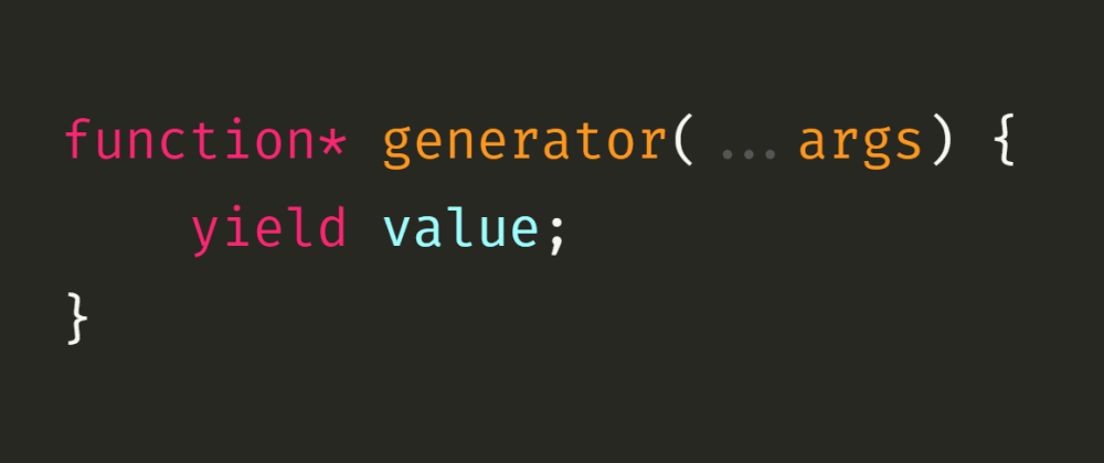 Cover image for JavaScript Iterators and Generators: Synchronous Generators