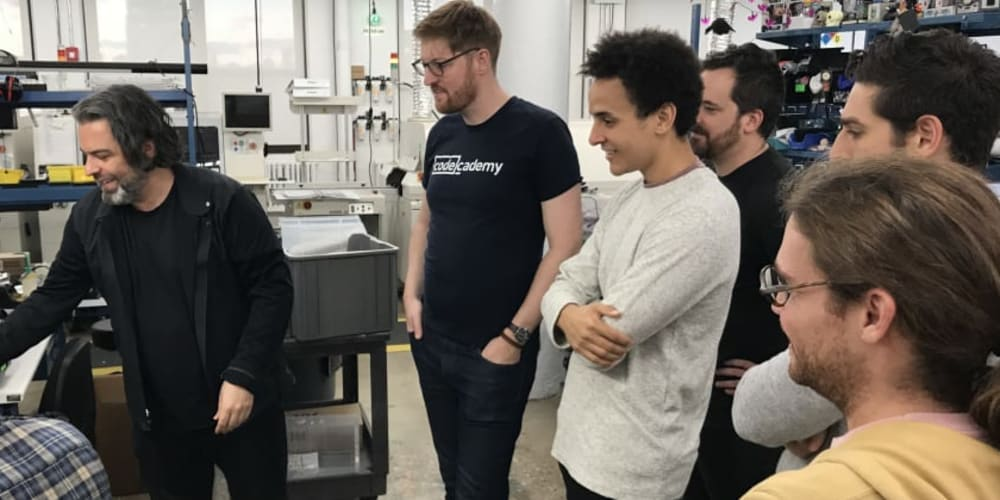 Codecademy x Adafruit Launched Hardware Course - DEV