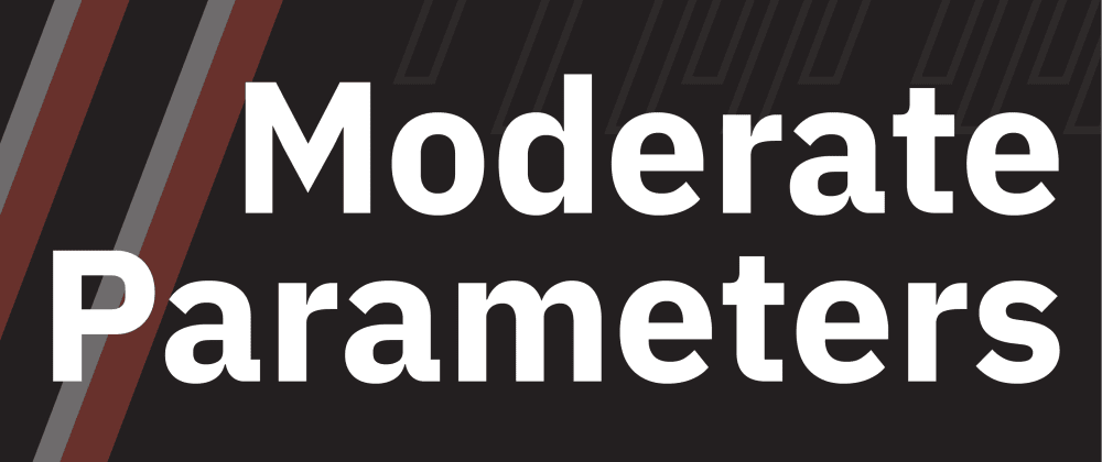 Cover image for Moderate Parameters: The Path From Protected Attributes to Strong Parameters
