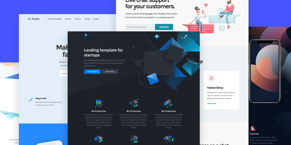 Landing Page Template 40 Free Html Landing Page Templates