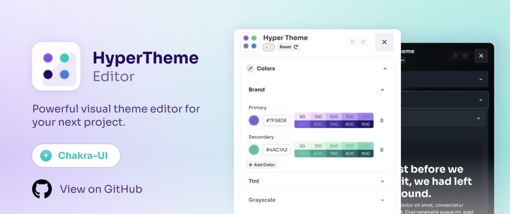 Cover image for Create a custom theme editor with HyperTheme