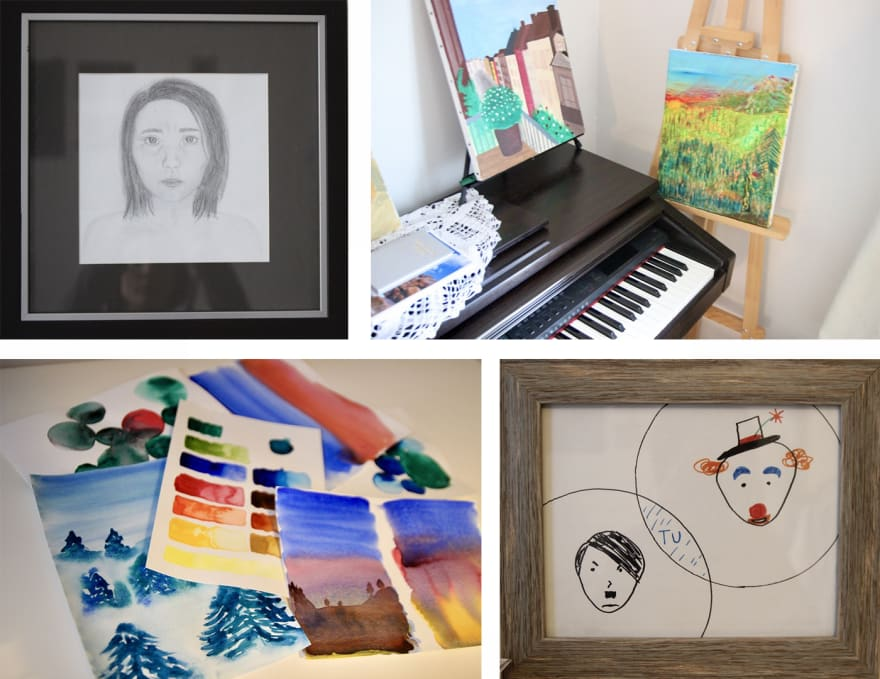 Creative artworks by Christina
