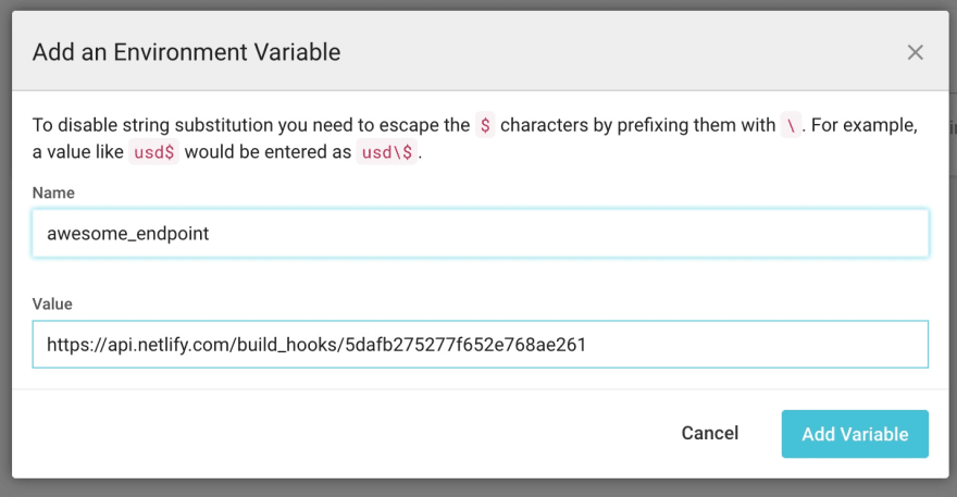 add-environment-variable