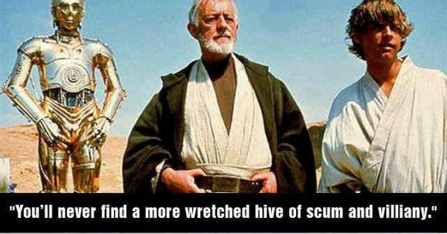 The web is a hive of scum and villainy