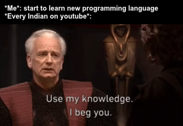 Hindi's teaching meme