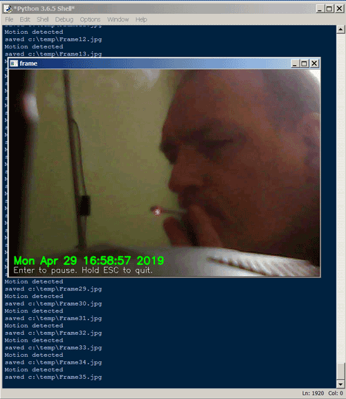 Python Webcam Motion Detector - DEV Community 👩 💻👨 💻