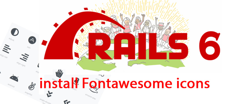Cover image for How to Install FontAwesome with Yarn and Webpacker in Rails 6?
