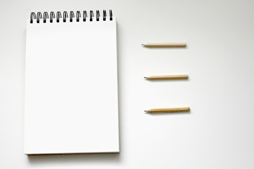 list with pencil and paper