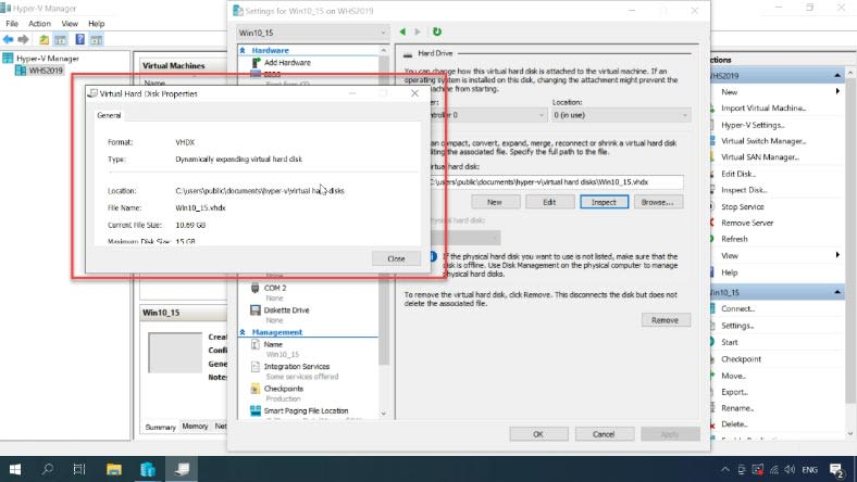How to convert a dynamic virtual hard disk into a fixed-size one