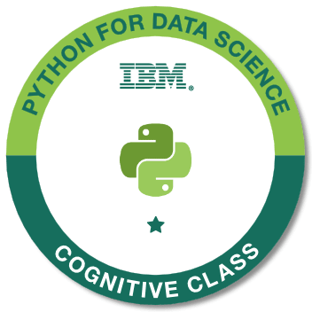 Python for Data Science by IBM