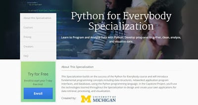 Learn Python For Free 8 Free Tutorials And Websites To Learn Python Programming In 2020 Dev