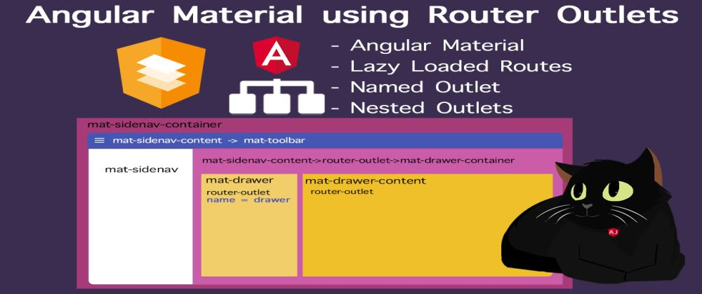 Cover image for Angular Material Router Outlet