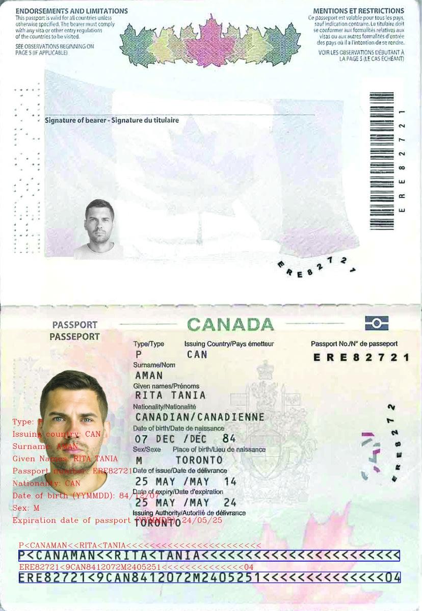 passport mrz ocr