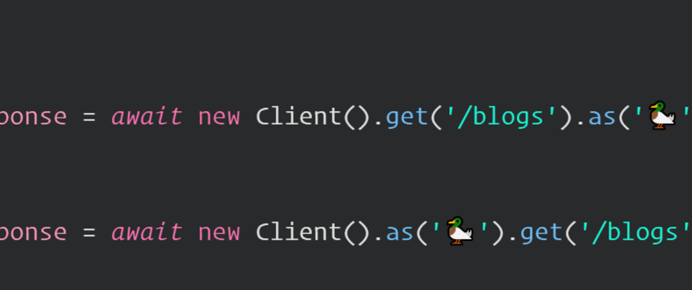 Cover image for Detecting the end of a fluent API chain in JavaScript