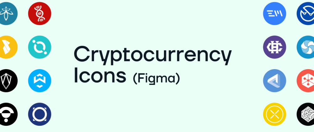 Cover image for Freebie: Cryptocurrency Icons (Figma)