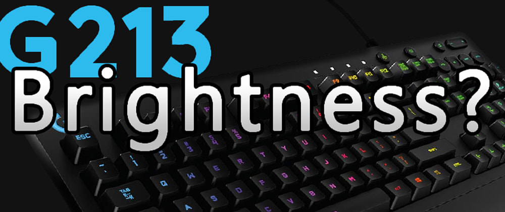 Cover image for Solve: There is no Brightness button on my new keyboard ヽ(°〇°)ノ