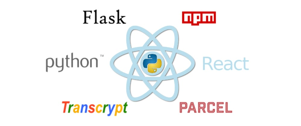 Cover image for Creating React Applications with Python