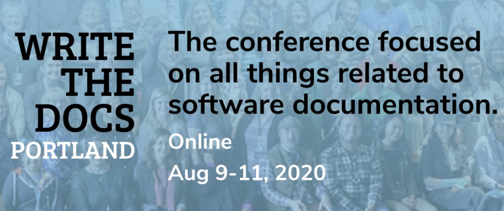 Cover image for WriteTheDocs Portland 2020, Writing Day Debrief Notes