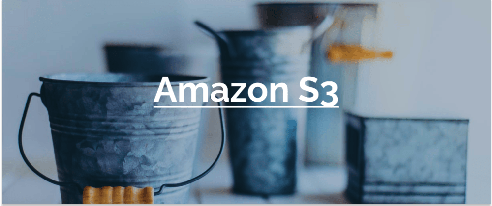 Cover image for Intro to Amazon S3