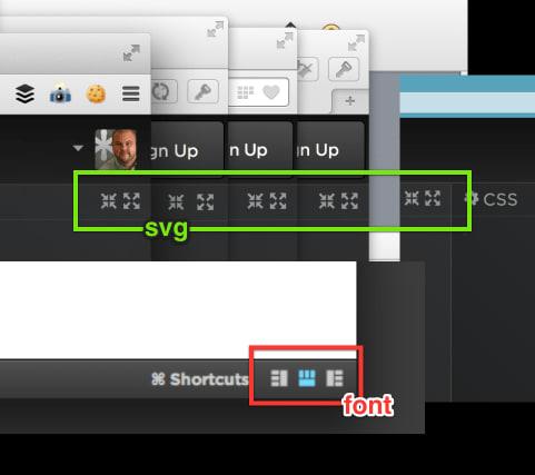 SVG fonts won't be anti-aliased