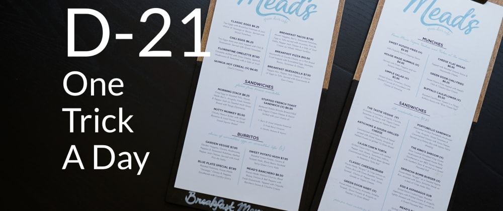 Cover image for Create A Menu For Your Gatsby Website WithoutLibs