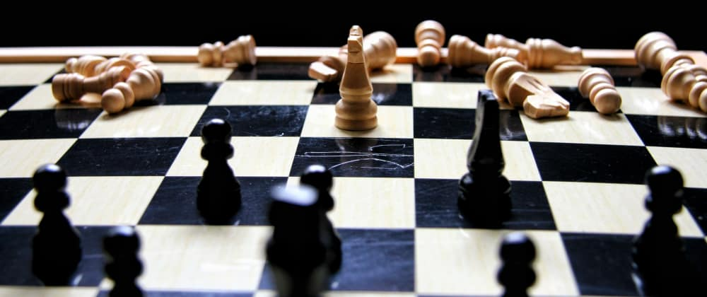 Cover image for Decisionmaking practise with a parable of Chess.