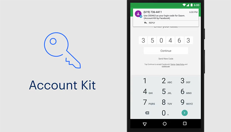 Account Kit by Facebook