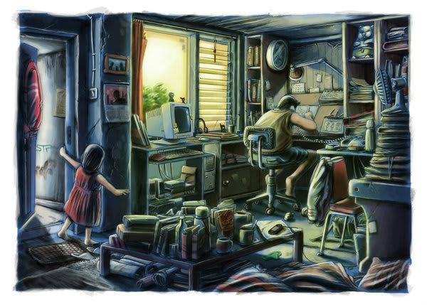 Messy Room | Delia Tee