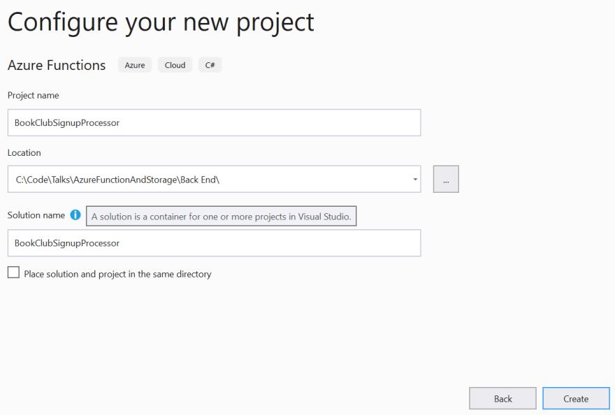 Visual Studio 2019 Configure The Project