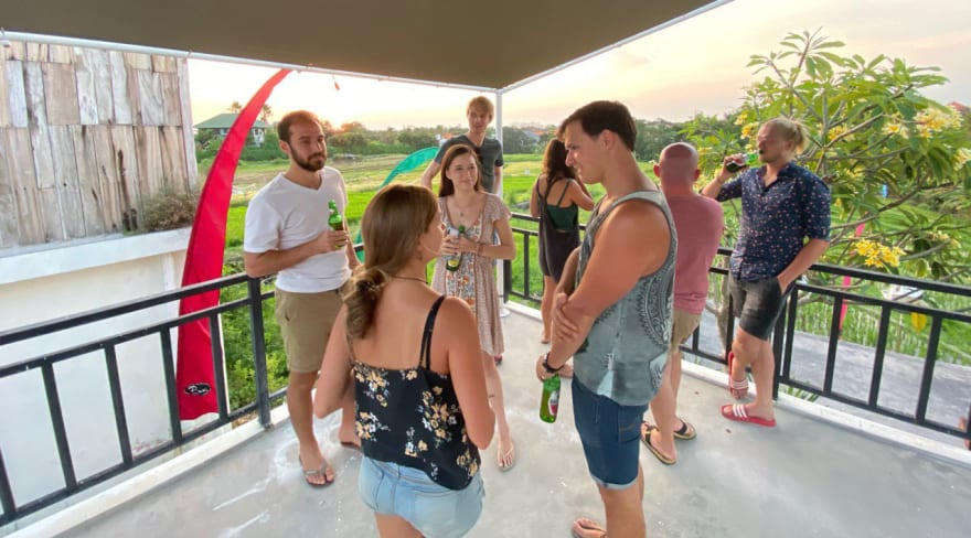We live streamed for 14 hours from Bali for our v2.0 launch!