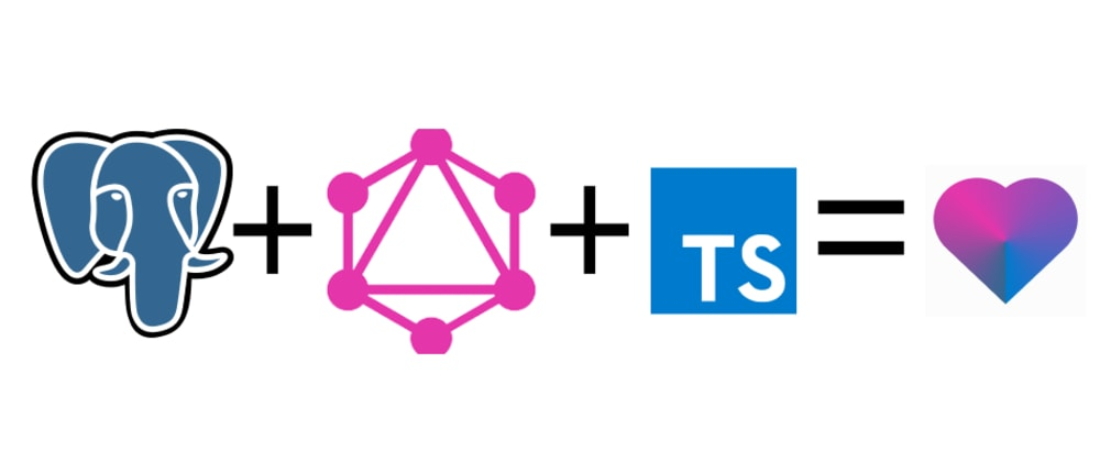 Cover image for GraphQL + TypeScript + PostgreSQL API