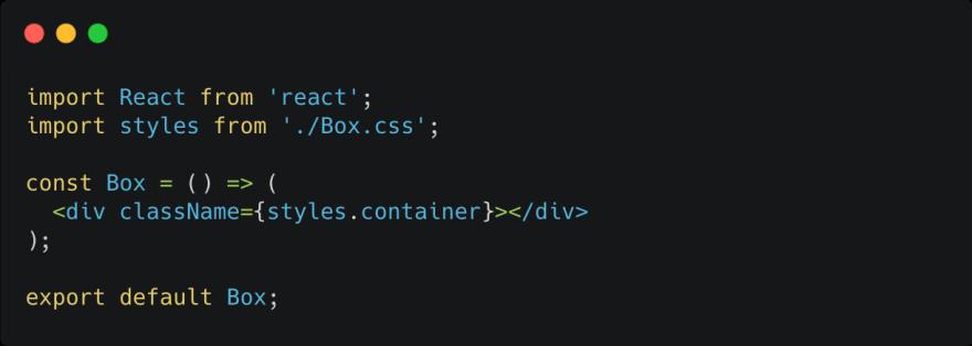CSS Module