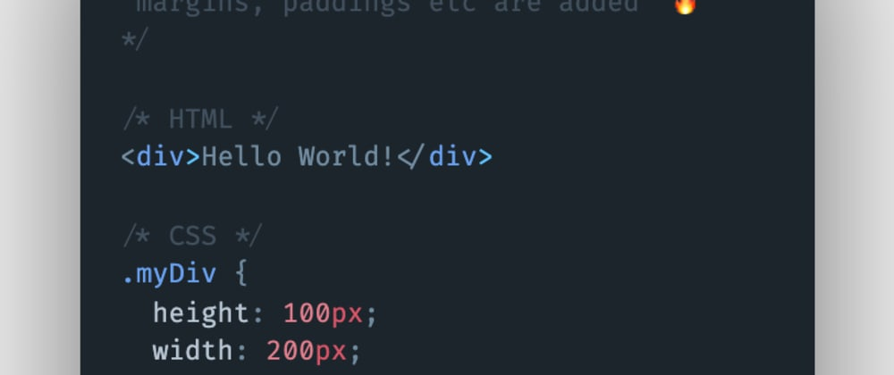 Cover image for How to avoid width or height increasing or decreasing when margins, paddings, outline, etc. are applied to an HTML element?