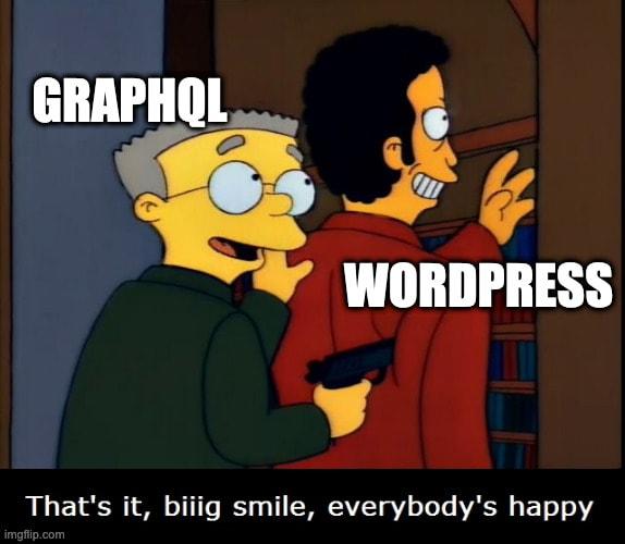 GraphQL in WordPress core? 😁