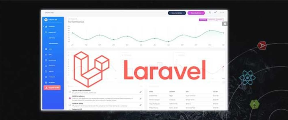 Cover Image for Laravel Theme Download - Modern UI Kits to start fast
