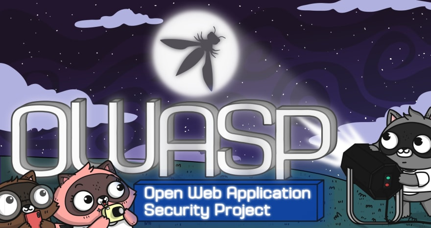 OWASP Bat Signal, Image created by Ashley McNamara