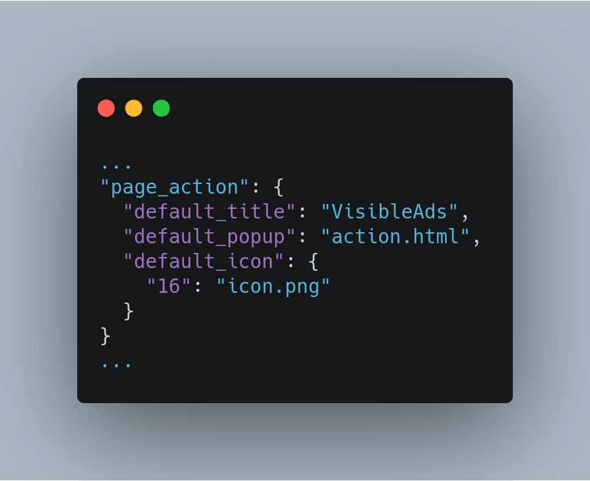 Add action.html as our default popup