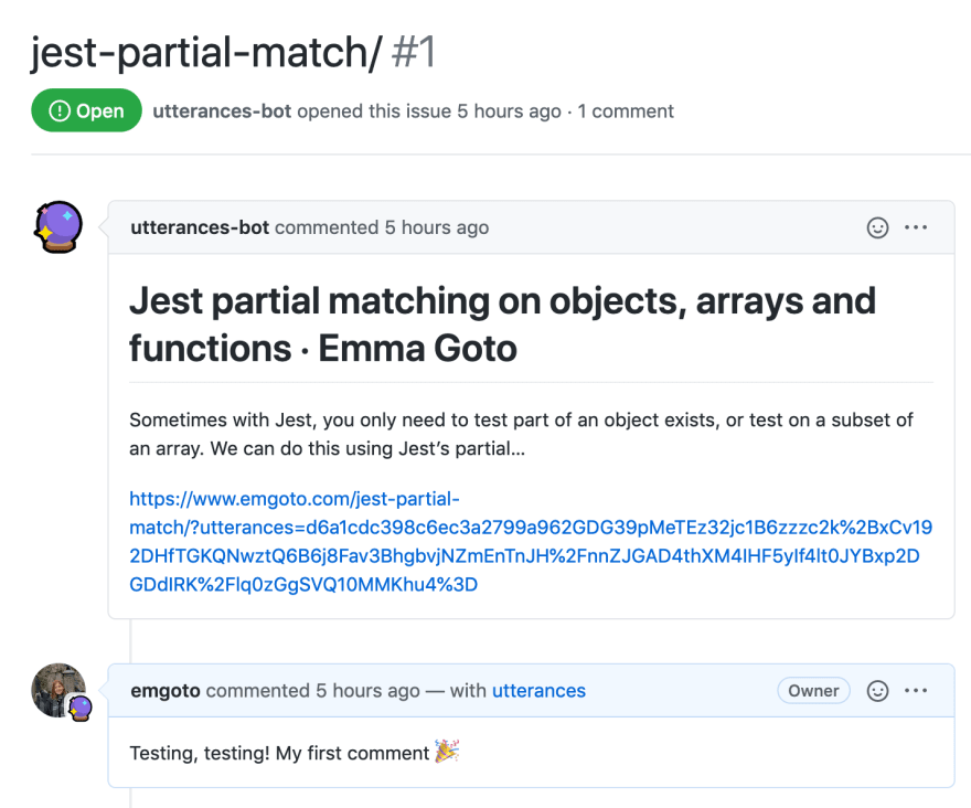 Same comment as blog, but in a Github issue