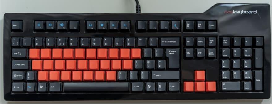 Full-size keyboard